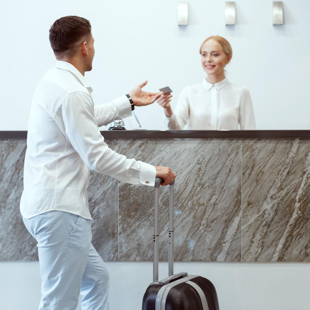 Sikkerhedsvagt til hotelbranchen